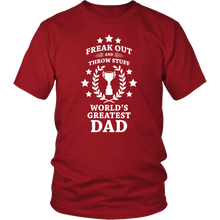 Fuego World's Greatest Dad Phish Shirt by Custeez