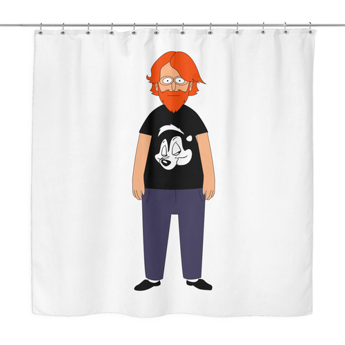 Bob's Burgers Bob Trey Shower Curtain