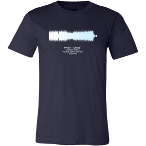 Ghost Soundwave Phish Shirt by Custeez