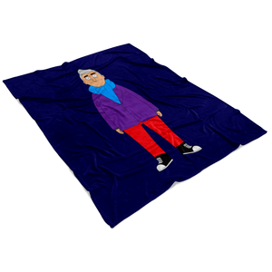 Bob's Burgers Fischoeder Mike Fleece Blanket