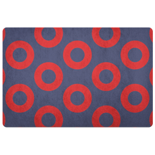 Phish Fishman Doughnut Print Doormat by Custeez