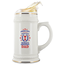Fuego World's Greatest Dad Phish Beer Stein by Custeez