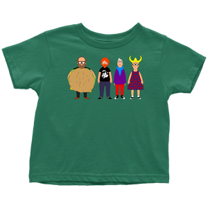Bob's Burgers Phish Shirt for Toddlers by Custeez