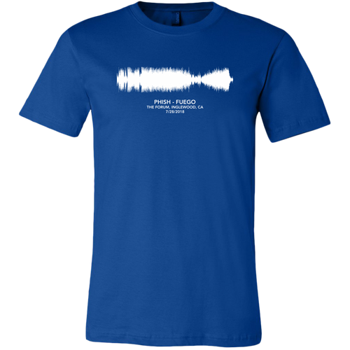 Fuego Soundwave Phish Shirt by Custeez
