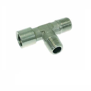 "1/4"" M x 1/4"" M x 1/4"" F BSP T Fitting - Coffee Addicts Canada"