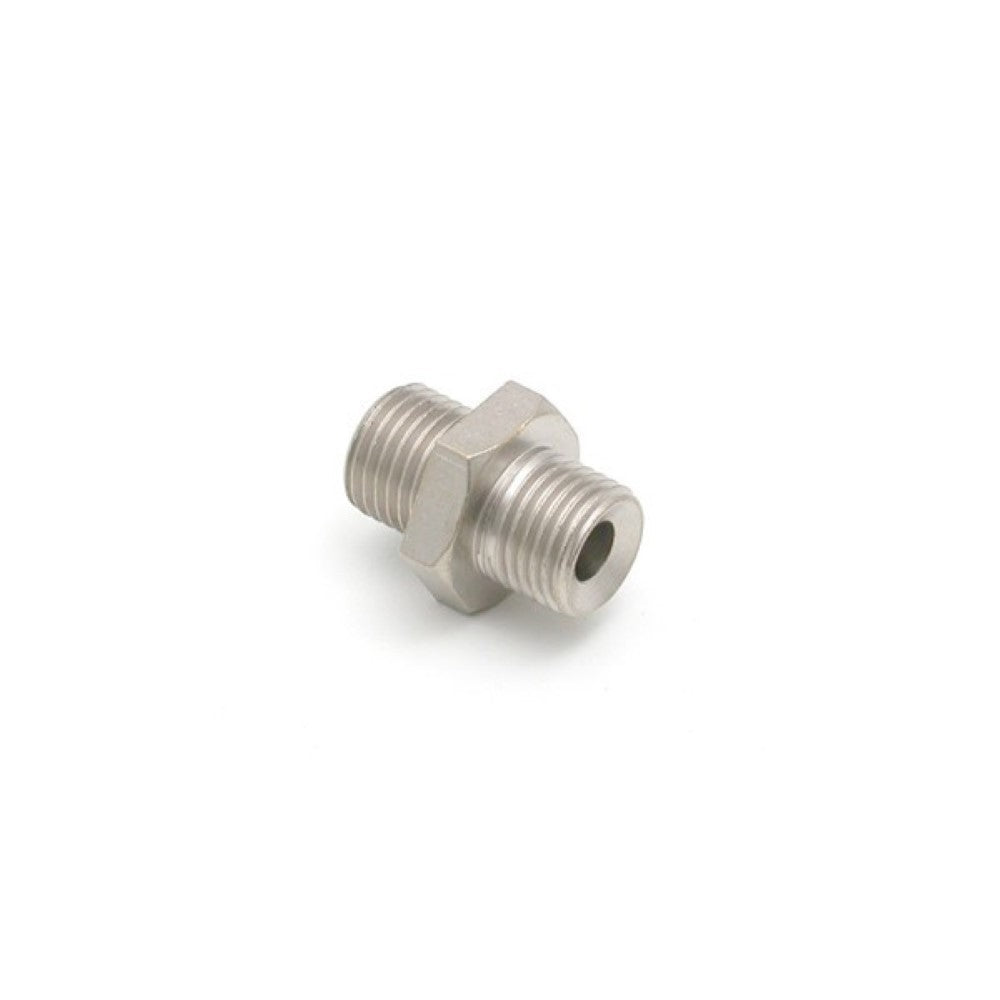 "1/4"" M BSP x 1/4"" M BSP Stainless Steel Fitting - Coffee Addicts Canada"