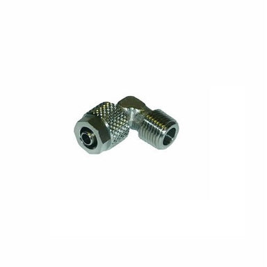 "1/8"" M BSP x 6/4mm Compression Barb Elbow Fitting - Coffee Addicts Canada"