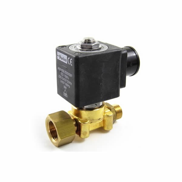 220V Two-way Hot Water Valve Assembly - Coffee Addicts Canada