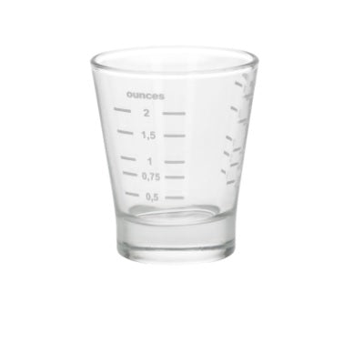 2oz Lined Measuring Shot Glass - Coffee Addicts Canada