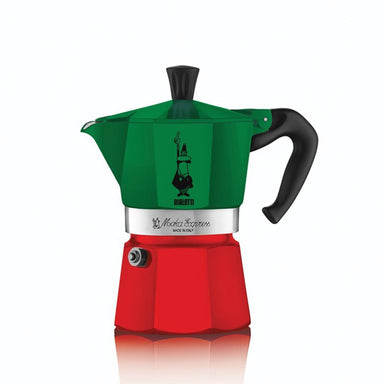 Bialetti Moka Express® Italia Stovetop Espresso Maker - 2 sizes - Coffee Addicts Canada