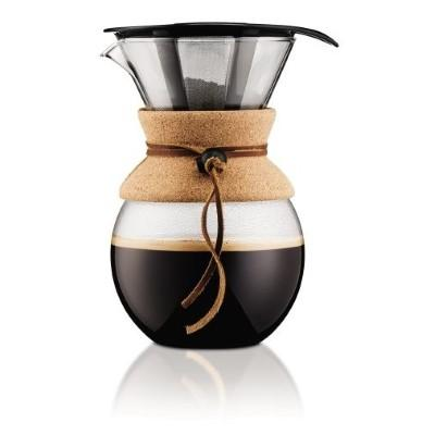 Bodum Cork Pour Over 34oz - Coffee Addicts Canada