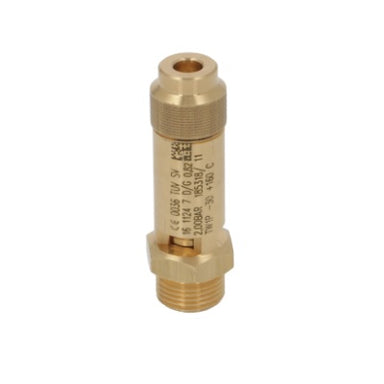 "Boiler Safety Valve - 3/8"" 2.0bar CE-PED - Coffee Addicts Canada"