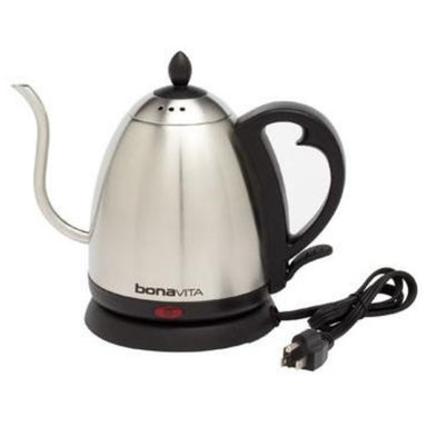 Bonavita Electric Gooseneck Kettle 1L - Coffee Addicts Canada