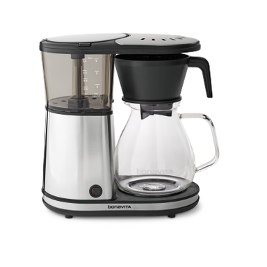Bonavita Glass Carafe Coffee Brewer with Warming Plate - 8 Cup - Coffee Addicts Canada