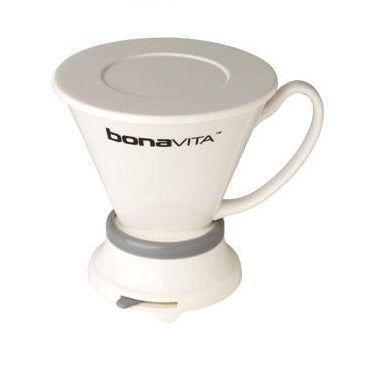 Bonavita Wide Base Porcelain Immersion Dripper - Coffee Addicts Canada