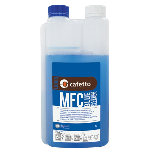 Cafetto Daily Milk Frother Cleaner MFC Blue - Coffee Addicts Canada