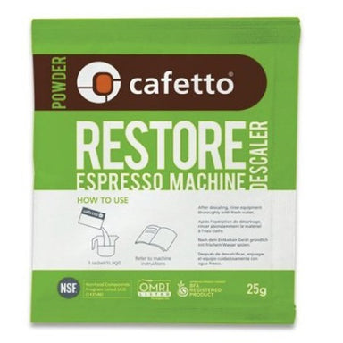 Cafetto Restore Espresso Machine Descaler - Coffee Addicts Canada