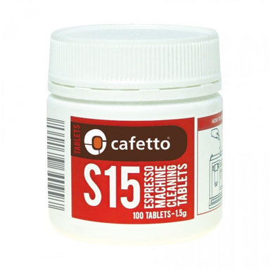 Cafetto S15 Cleaning Tablets (1.5g) - Coffee Addicts Canada