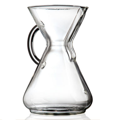 Chemex 10 Cup Glass Handle Coffeemaker - Coffee Addicts Canada