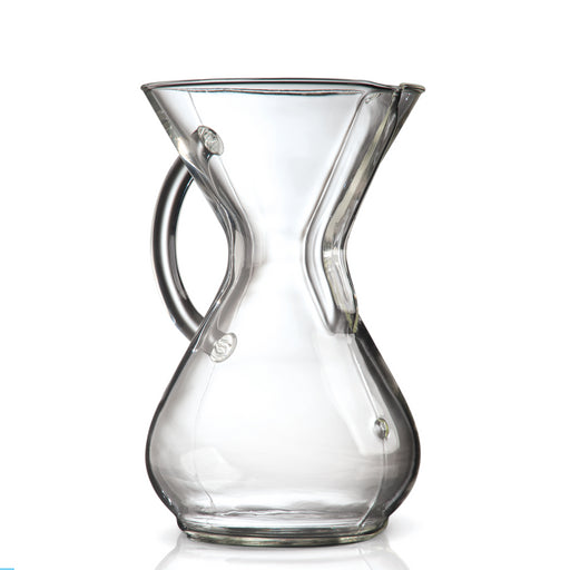 Chemex 6 Cup Glass Handle Coffeemaker - Coffee Addicts Canada