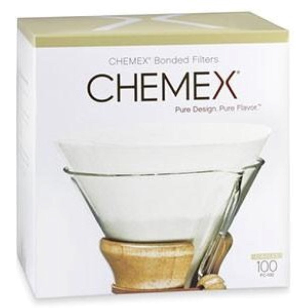 Chemex Prefolded Circle Filters - 100pk - Coffee Addicts Canada