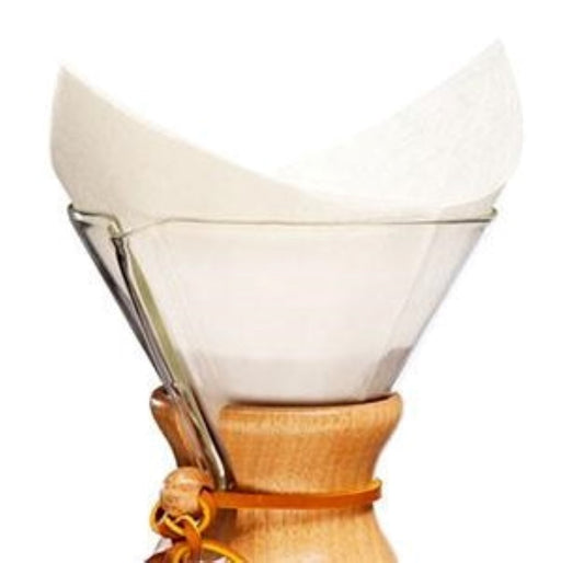Chemex Bleached Square Filters - 100pk - Coffee Addicts Canada