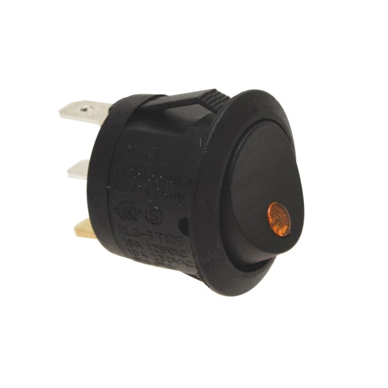Compak Black Bipolar Switch 10A (Special Order) - Coffee Addicts Canada