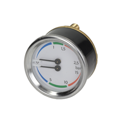 Double Scale Pressure Gauge - Coffee Addicts Canada