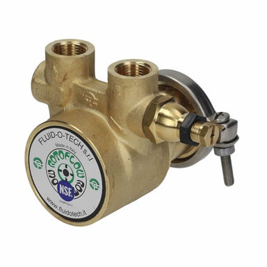 Fluid-O-Tech Rotoflow Rotary Vane Water Pump (200L/h) - Coffee Addicts Canada