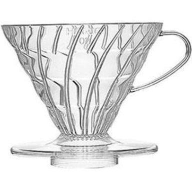 Hario V60-02 Clear Plastic - Coffee Addicts Canada