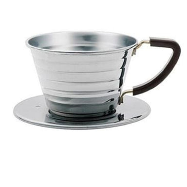 Kalita Wave 155 Dripper Stainless Steel - Coffee Addicts Canada