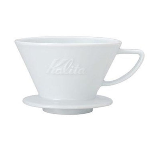 Kalita Wave 185 Dripper Ceramic White - Coffee Addicts Canada