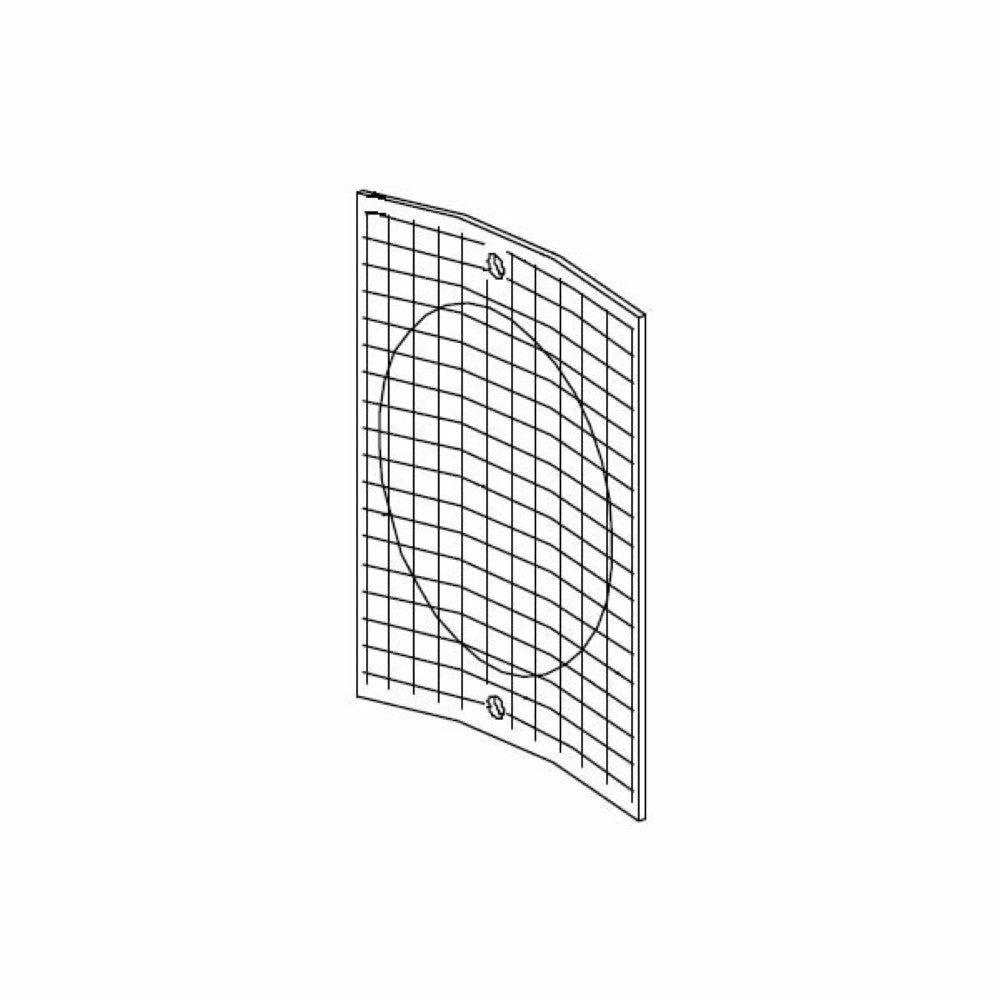 Mazzer Rear Fan Cover 80X80mm (Special Order) - Coffee Addicts Canada