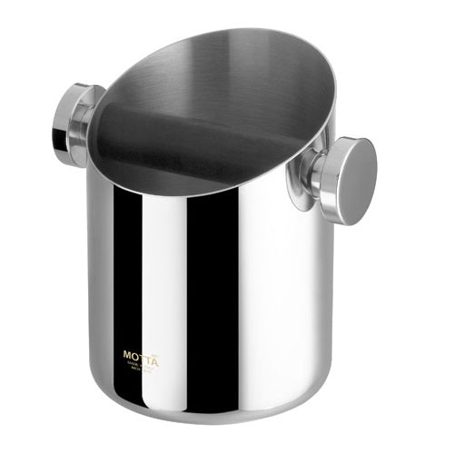 Motta Stainless Steel Knock Box - Coffee Addicts Canada