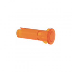 Orange Plastic Light Lens Cover 9mm - Coffee Addicts Canada