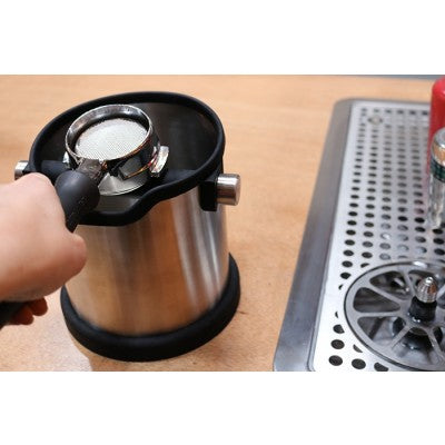 Rhino Coffee Gear Stainless Steel Knock Box - Coffee Addicts Canada