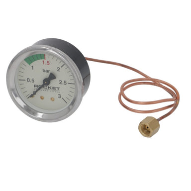 Rocket Boiler Pressure Gauge ø 60mm - Coffee Addicts Canada