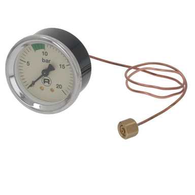 Rocket Pump Pressure Gauge ø 60mm - Coffee Addicts Canada