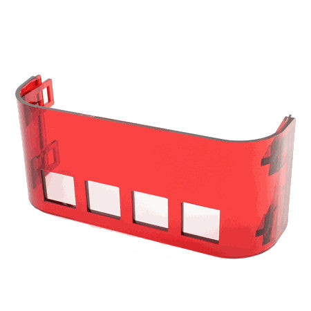 Translucent Red Front Cover Plate (Special Order) - Coffee Addicts Canada