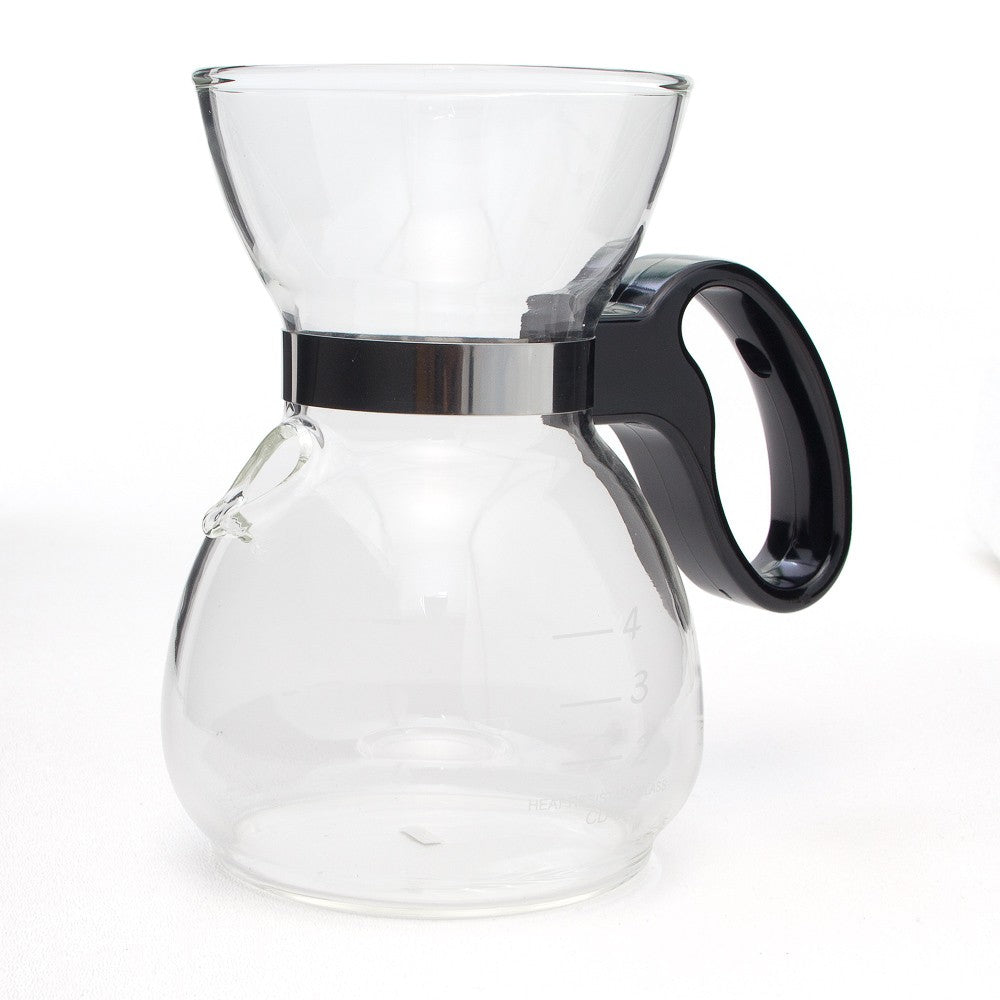Yama Glass 18oz Coffee/Tea Sock Pot (CD5) - Coffee Addicts Canada
