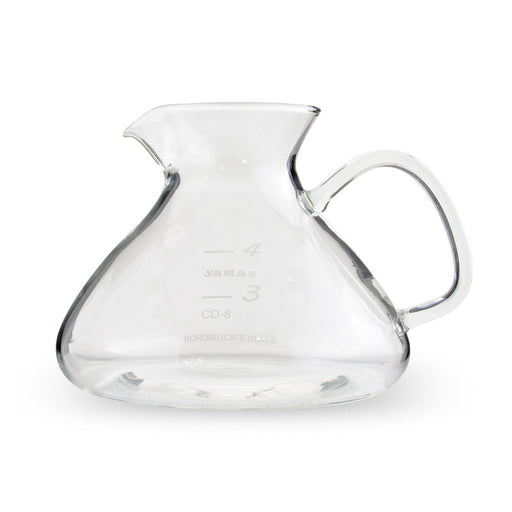 Yama Glass Silverton Bottom Beaker - Coffee Addicts Canada
