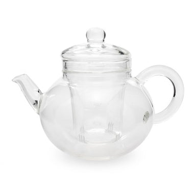 Yama Glass Teapot with Infuser 32oz - Coffee Addicts Canada