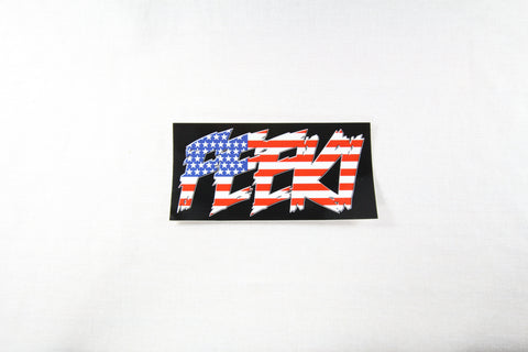 Feeki Flag Logo Sticker