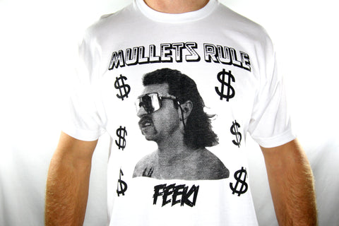 Feeki Mullets Rule Tee