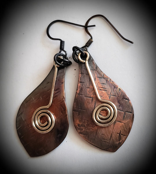 Mandolin Earrings