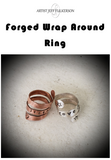 Forged Wrap Around Ring