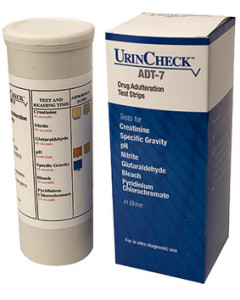 Urincheck Adt-7 Drug Adulteration Test Strips (Bottle of 25)