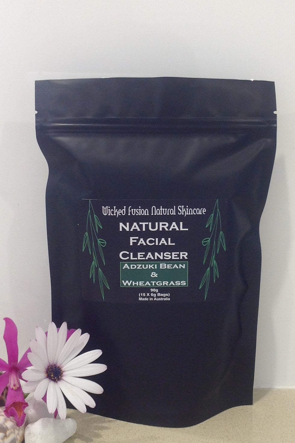 Adzuki Bean & Wheatgrass Facial Cleanser