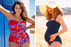 Capriosca featured in Mum's Grapevine Maternity Swimsuit Blog