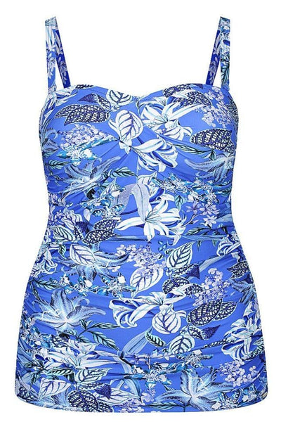 bandeau tankini top swimwear